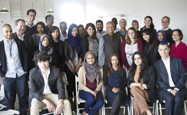 Visited by Mohammed Yunus